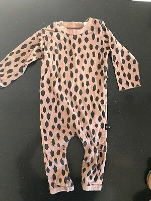 Huxbaby Long sleeve Romper Size 1