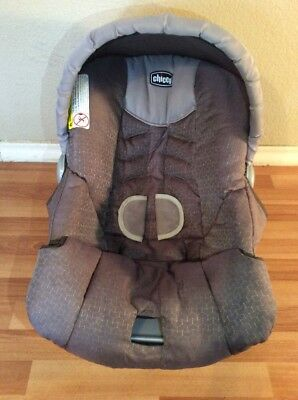 CHICCO Keyfit 30 Infant Car Seat Cushion Cover Canopy Set Parts Beige Brown & CHICCO KEYFIT 30 Infant Car Seat Cushion Cover Canopy Set Part ...