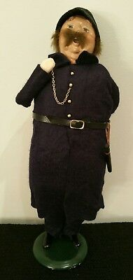 Byers' Choice Ltd The Carolers 1994 Police Officer/Bobby/Constable/Cop