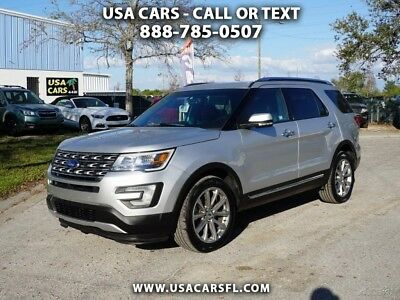 2017 Ford Explorer Limited 4WD 2017 Ford Explorer Limited 3.5L V6  4WD  Navi Pano Roof Leather w/heat & cool