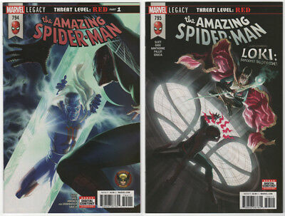Amazing Spider-Man #794 #795 NM+ 2018 Marvel Comics 1st print Red Goblin Carnage