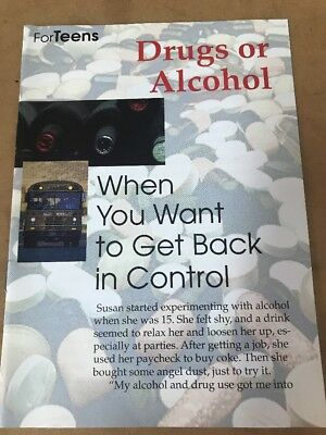 Drugs Or Alcohol. When You Want To Get Back In Control (For Teens)