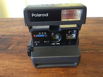 Vintage Polaroid 636 Close Up Instant Film Camera