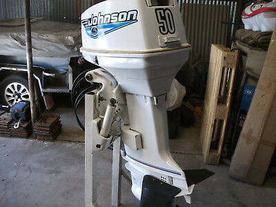 johson 50hp outbard motor