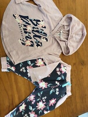 Billabong Size 1 Baby Girl Outfit
