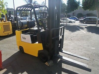 Yale Forklift Propane Gas 3000 Lbs