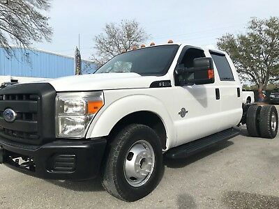 2014 Ford F-350 DRW CREW CAB & CHASSIS 6.7 LITER TURBO DIESEL 2014 FORD F-350 DRW CREW CAB & CHASSIS 6.7 LITER POWERSTROKE TURBO DIESEL