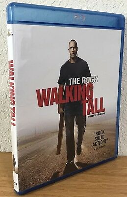 WALKING TALL (Blu-Ray Disc, 2010) Region A - DISC IS FLAWLESS!