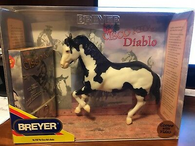 Breyer horse # 1152 Cisco Kid's Diablo with video