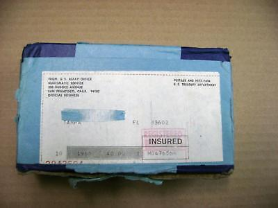 UNOPENED Mint Shipping Box of TEN 1965 Special Mint Sets Sealed Box - Silver 50c