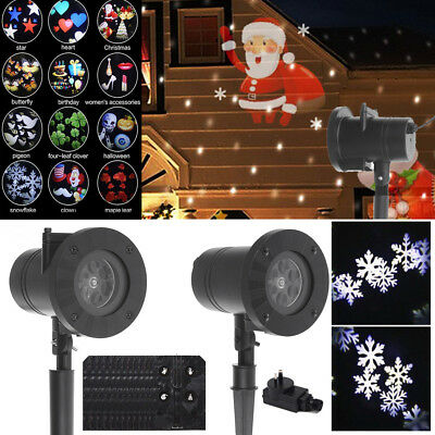Christmas Outdoor Landscape LED Lamp R&G Laser Fairy Light Projection Projector