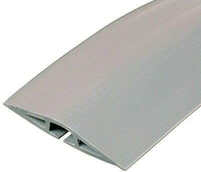 Legrand Wiremold Corduct 5 Ft. 1-Channel Over-Floor Cord Protector Gray Durable