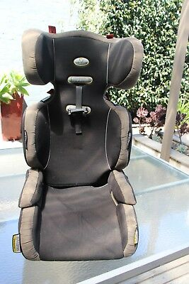 Infa-secure Car Booster Seat, dark grey & black