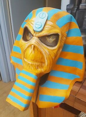 IRON MAIDEN - Powerslave 30th Anniversary Latex Eddie Mask (NECA)