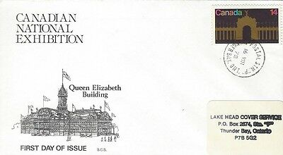 1978 #767 Canadian National Exhibition FDC with SCS cachet