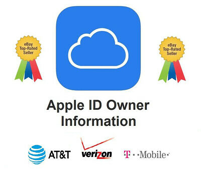 Apple iCloud Owner Info (Name + Phone) by IMEI - Verizon / AT&T / T-Mobile Only