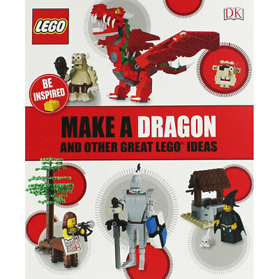 Make A Dragon and Other Great Lego Ideas (Paperback), Children's Books, New