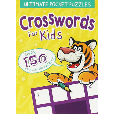 Pocket Crosswords For Kids by Arcturus (Paperback), Children's Books, Brand New