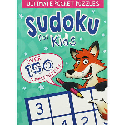 Pocket Sudoku For Kids by Arcturus (Paperback), Children's Books, Brand New