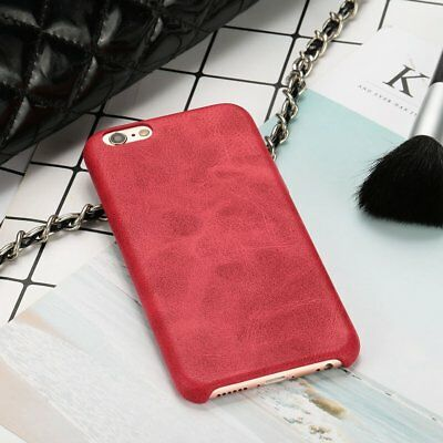 Retro PU Soft Touch Business Phone Case Cover Protector Skin For iPhone 6/6S