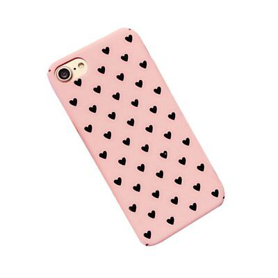 PC Heart Painted Case Girl Style Case Cover Protector Shell For Iphone7/8