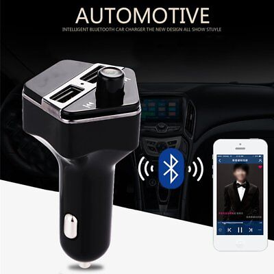 Bluetooth Wireless Car Vehicle MP3 Audio Players FM Transmitter Dual USB Charger