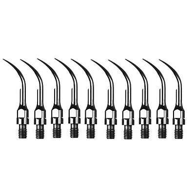 10 pcs Dental Ultrasonic Scaler Scaling Tips Fit SIRONA Handpiece GS1