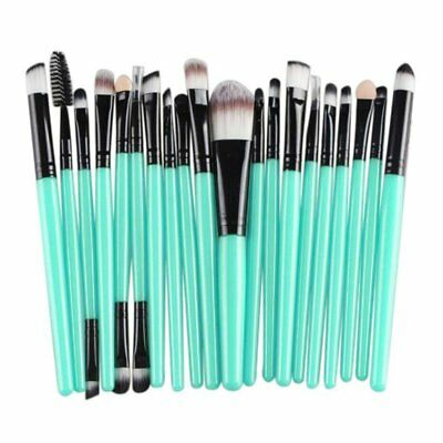 20PCS Goat Hair Makeup Brush Set Tools Toiletry Wool Up Best Sell Gift