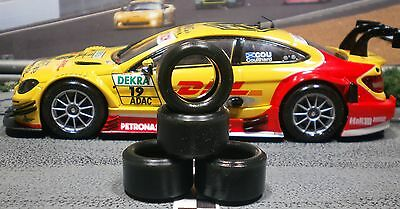 1/32 PAULGAGE SLOT CAR TIRE 2pr PGT-20125LMXD NEW SIZE fit all CARRERA DTM