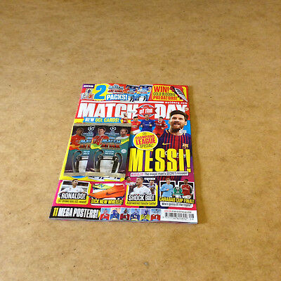 Match Of The Day #493 20/02/2018 + Match Attax Uefa Champ League Trading Cards