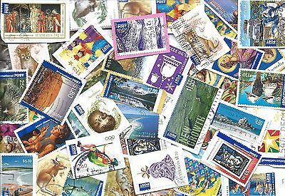 selection of international post AUSTRALIAN STAMPS - kiloware
