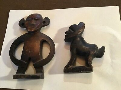 Carved African Figures -Stone Ethnic Carvings