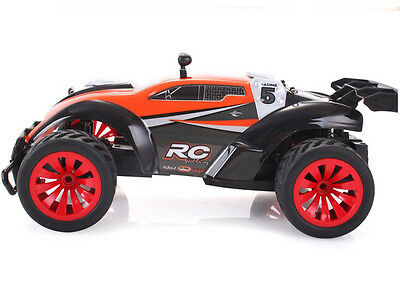 Orange Length 29.5CM Simulation 2.4G Remote Control Car Children's Gift Toy  #