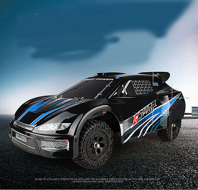 Black+Blue New Length 42cm 2.4G Remote Control Simulation Car Gift Toy  #