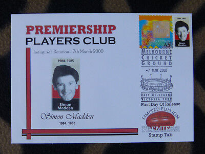 Rare Premiership Players Club 2000/ P/stamp Fdc - Simon Madden Essendon Bombers