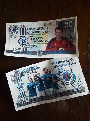Glasgow Rangers FC commemorative Note