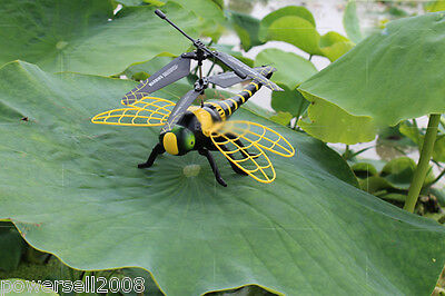 Yellow Length 21.8CM Remote Control Plane Helicopter Model Gift Dragonfly Toys