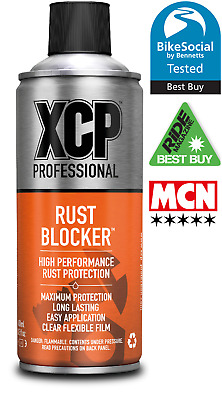 2 x 400ml tins XCP Rust Blocker High Performance Corrosion Protection Spray