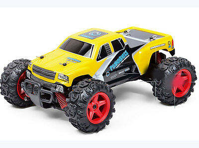 1:24 Yellow High-Speed Electronic 2.4G Remote Control Car Children's Gift Toy  #
