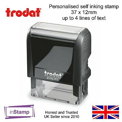 Personalised Self Inking Rubber Stamp Address Business Nhs Doctor Nurse 4911
