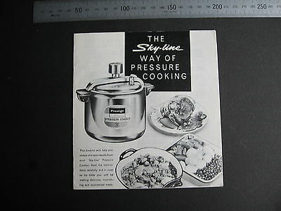 Skyline Preasure Cooking Booklet  13 pages