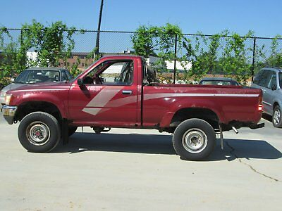 1989 Toyota Pickup Short Bed Deluxe 1989 Toyota Pick-up truck