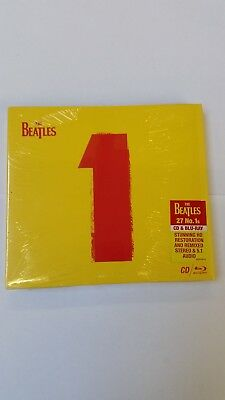 The Beatles 1 No. 1s CD and Bluray special limited edition - New & Sealed