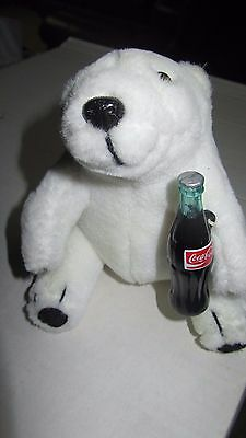 Vintage Coca Cola Polar Bear- New- not played with