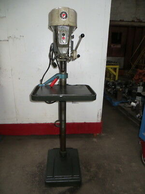 "Delta Rockwell 15-665 Floor Model Style Drill Press 1/2"" Cap. 115-230VAC, Used"