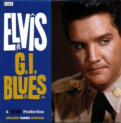 Elvis Collectors CD - Spliced Takes - GI Blues  - Free Shipping