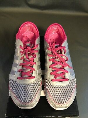 reputable site eac3c b55da Adidas Climacool Oscillation Running Shoes,G47129, SilverPink, Womens US  10