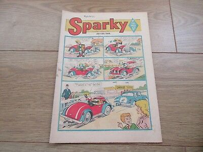 SPARKY COMIC No 181 - JULY 6TH 1968 - Good condition-Rare - Beano/Dandy