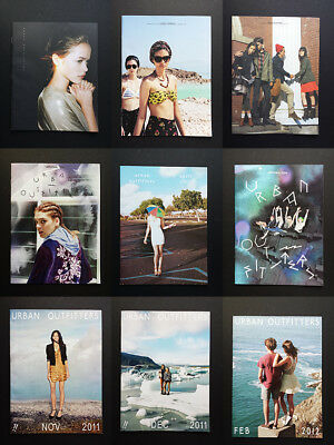 Urban Outfitters Clothing Fashion Catalogs 2009 2010 2011 2012 Lot Cass Bird