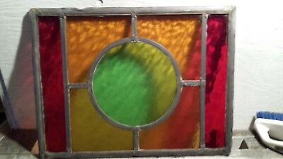 Stained glass squares  16 3/4 x12 3/4